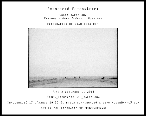 Exposición a Marc3, Artista Joan Teixidor
